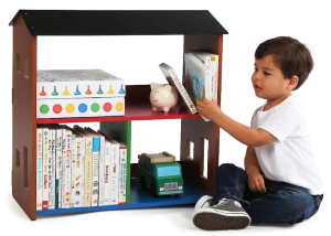 $24 Tot Tutors Focus Playtime Bookcase