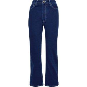 Acne StudiosHigh-rise straight-leg jeans