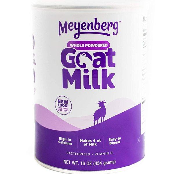 Meyenberg 全脂100%纯山羊奶粉16oz