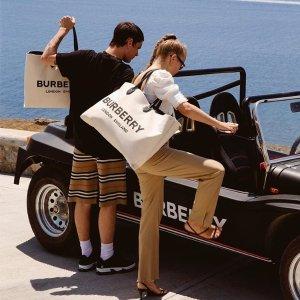 低至4折七夕精选:Burberry专场服饰手袋 新款折扣买到根本停不下来