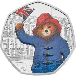 The Royal Mint帕丁顿熊白金汉宫款