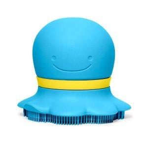 skiphop可装浴液的沐浴刷