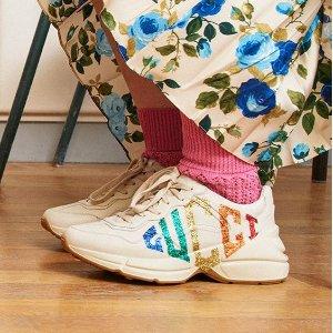 定价优势+低至8折Gucci 乐福鞋、老爹鞋上新
