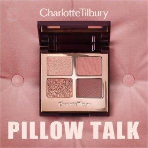 史低75折 收Pillow Talk眼影盘比黑五低:Charlotte Tilbury 彩妆护肤热卖 收断货王眼影盘 新款粉底液