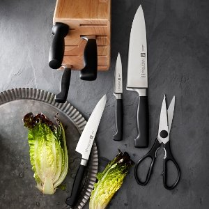 $119.99ZWILLING FOUR STAR 8-PC ANNIVERSARY KNIFE BLOCK SET
