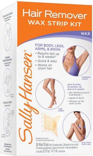 Sally Hansen Hair Remover Wax Strip Kit for Body | Ulta Beauty