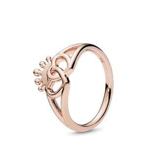 Pandora1件7折,2件6折,3件5折皇冠戒指