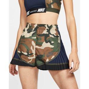 NikeNike x Sacai Women's Pleated Tempo Shorts. Nike.com