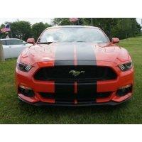 Mustang GT 双条赛车拉花