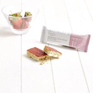 草莓酱+酸奶代餐棒