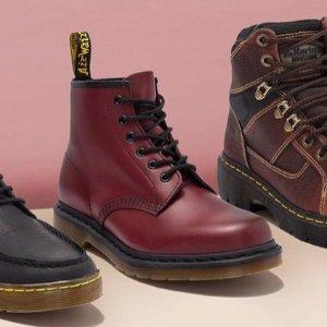 低至5折Dr. Martens鞋履闪购 $55收经典马丁靴