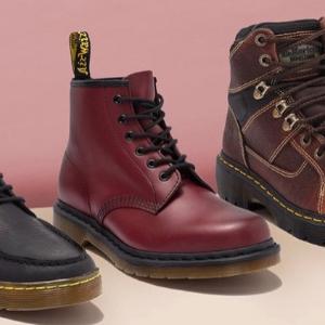 低至5.5折Dr. Martens鞋履闪购 $55收经典马丁靴