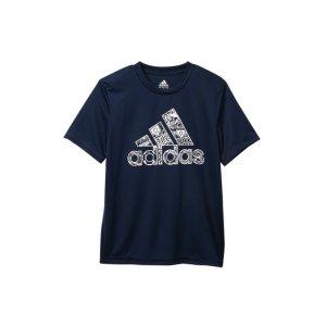 Adidas男大童T恤