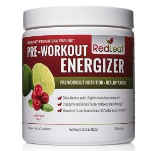 $24.19(原价$39.99)Red Leaf 健身训练运动补剂 30次用装