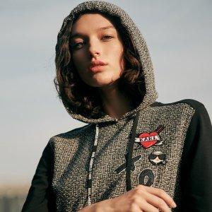 额外7折 封面上新 钻扣鞋$69Karl Lagerfeld Paris官网 全场鞋包、服饰折上折