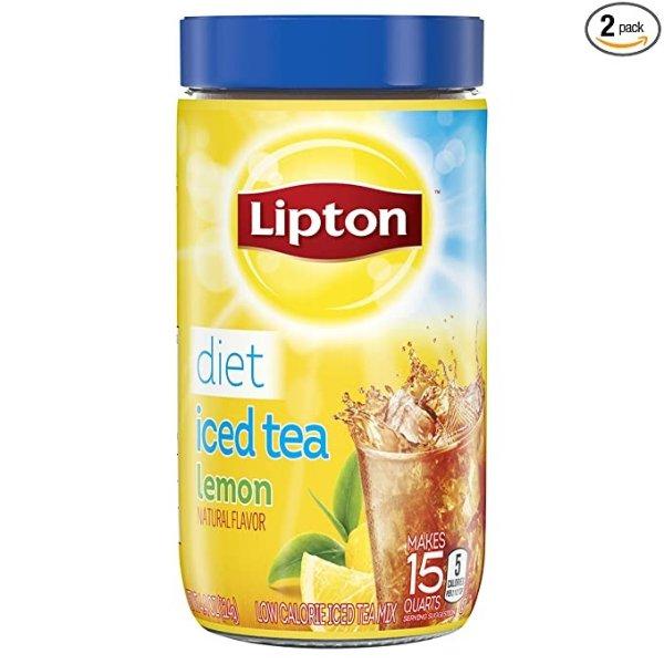 纯天然健怡柠檬茶冲剂 4.4oz 2罐