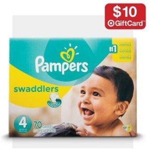满额送礼卡Target 婴儿尿布、奶粉消耗品促销