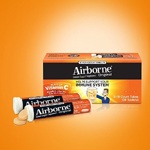 $12.65Airborne Very Berry Effervescent Tablets, 36 count - 1000mg of Vitamin C