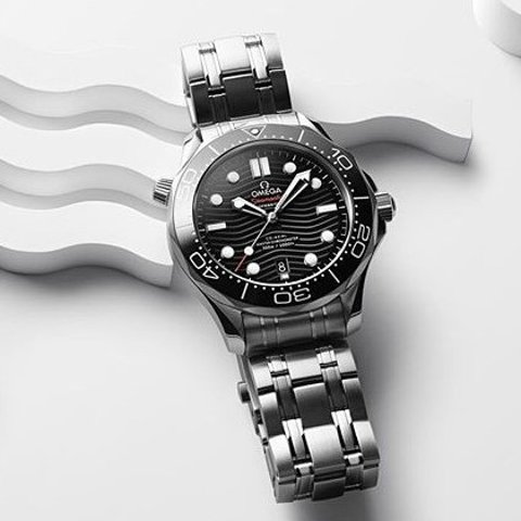 Extra $100 OffDealmoon Exclusive: OMEGA Seamaster Automatic Chronometer Men's Watch