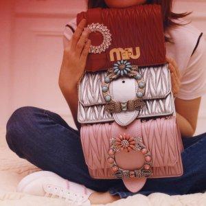 4折 收Miu Miu少女系列Miu Miu超多女鞋女包半年大促