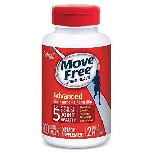 Move Free红瓶基础款维骨力200粒 大瓶装