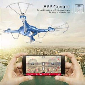 $53.49(原价$89.99)闪购:Syma X5UW 司马遥控飞机 航拍无人机飞行器