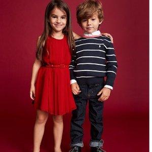 低至3.6折+最高额外6折折扣升级:Polo Ralph Lauren 儿童服饰促销区热卖 立享折上折