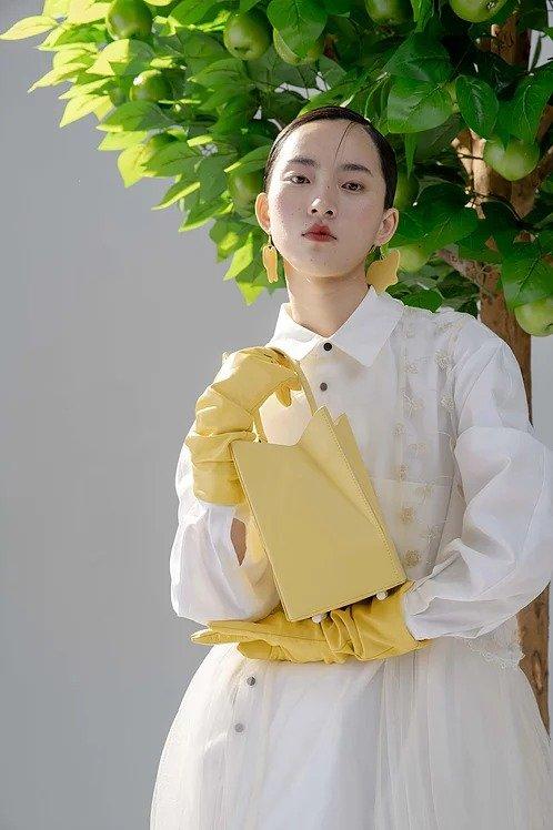 黄色糖果包(赠送小雏菊拎带)