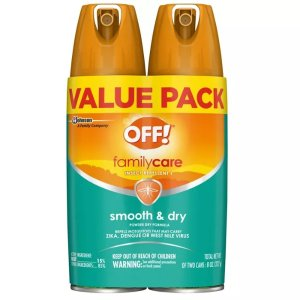 FamilyCare Smooth & Dry Insect Repellent I - 4oz/2ct