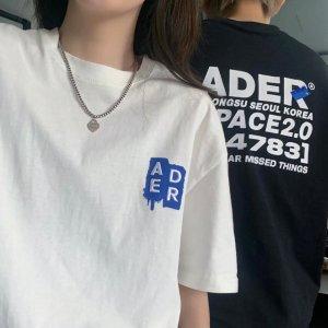 8.5折 €72收Ganni笑脸T恤Ssense 春夏潮Tee专场 收Ami、Ader Error、小狐狸等爆款
