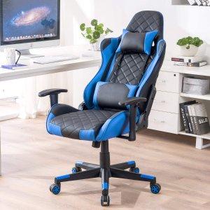 $189(原价$219)DJ.Wang 人体工学办公椅/游戏椅 高靠背舒适度极佳