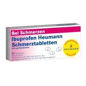通用型止疼药Heumann 布洛芬400毫克x20片