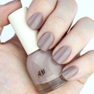 9折 一律$5.39 宅家美个甲H&M 开挂指甲油 气质裸粉色、夏日元气橘 真的值得买
