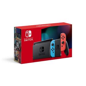 日本直郵¥2017Nintendo Switch 全新續航增強版 紅藍配色