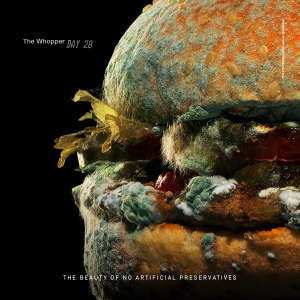 Burger King 发霉Whopper汉堡广告片轰动全网