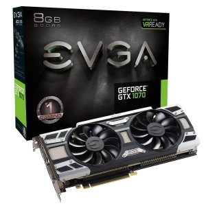 $279EVGA GeForce GTX 1070 GAMING, 8GB GDDR5, ACX 3.0 & LED, 08G-P4-6171-KR