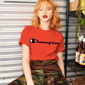 无门槛免邮 T恤$25 帽衫$50Champion 网红单品热卖 时尚弄潮儿看过来