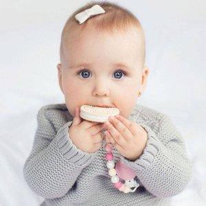 低至7折+额外8折Thyme Maternity 宝宝连体衣热卖 防抓手套 安抚咬胶娃娃