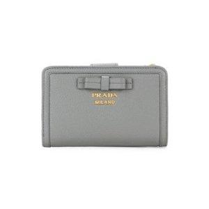 PradaSmall Bow Leather Wallet