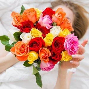 5.7折起1800flowers 鲜花花束预定服务热卖 情人节浪漫好礼首选