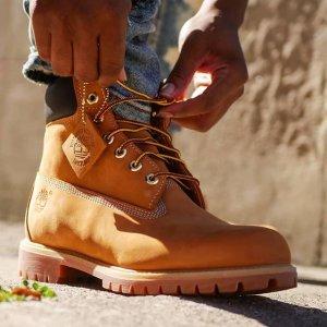 低至5折+额外7折Timberland 特卖专场 收经典工装靴 耐穿踢不烂 断码捡漏