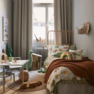 满$75享8折+免邮H&M 儿童房床上用品、装饰等特卖 装扮宝宝自己的小天地