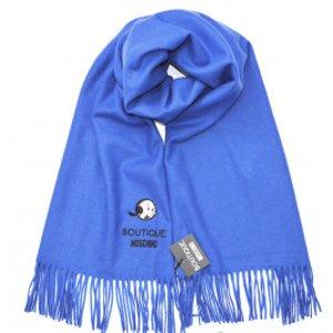低至4折 €53收100%羊毛围巾Moschino 围巾、丝巾折上折热卖 温暖秋冬好造型