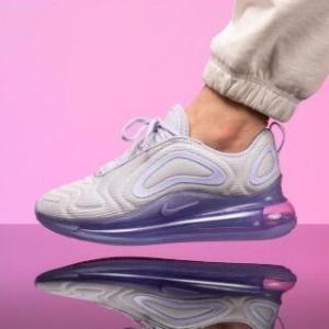 无门槛包邮Nike Air Max 720 彩色大底运动鞋上新 妹子入大童款