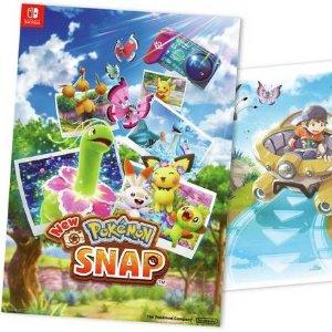 £44.99 4月30日抢先开玩《New 宝可梦随乐拍》Switch 实体版 预购开启
