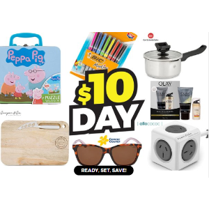 全场最高$10 上百款产品任选Catch 精选生活日用品促销 10刀购物日狂欢
