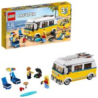 Lego Creator系列 3合1阳光海滩房车 31079,379片