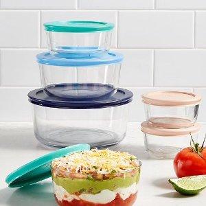 $12.99Pyrex 圆形玻璃碗连盖12件套