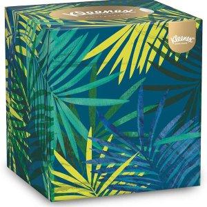 £12收12盒 每张仅£0.02Kleenex 超柔面巾纸好价热促 手慢无