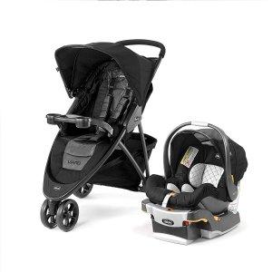 $399.99 (原价$499.99)史低价:Chicco 智高Viaro 婴儿推车+安全提篮套装